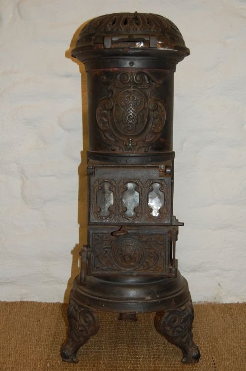 antique german austrian cast iron multi burner stove