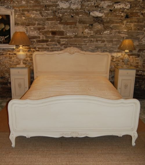 antique french oak king size bed