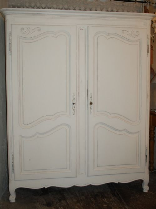 vintage french provencal armoire