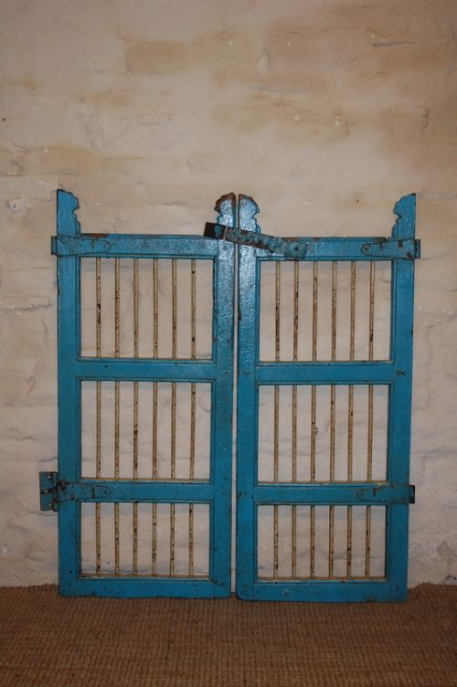 antique pair of gates in original paint