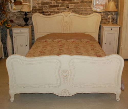 antique french provenal king size bed
