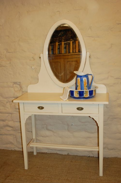 antique pine dressing table vanity table