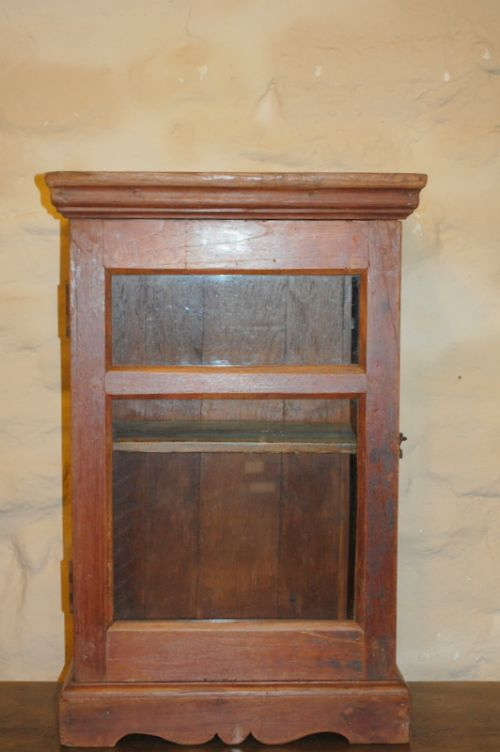 antique wall cabinet hanging cupboard