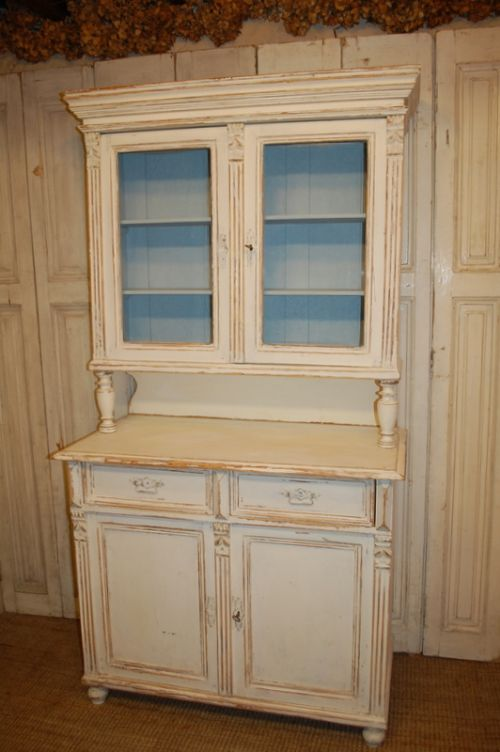 antique painted pine kitchen dresser kitchen cabinet 1850