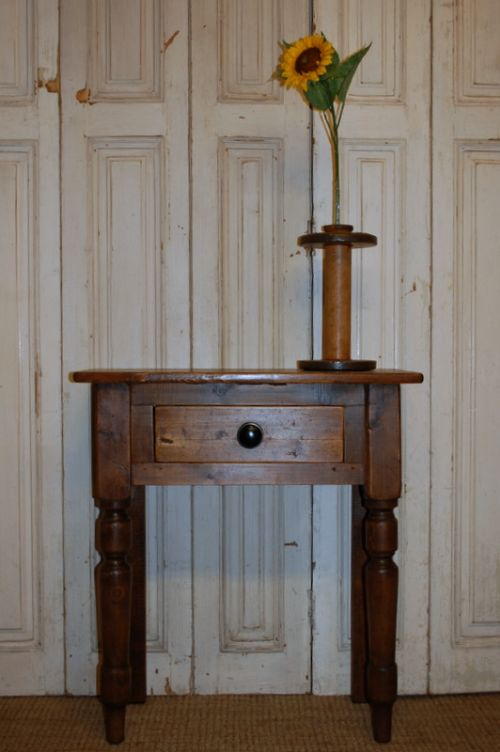 antique mill timber console table reclaimed table