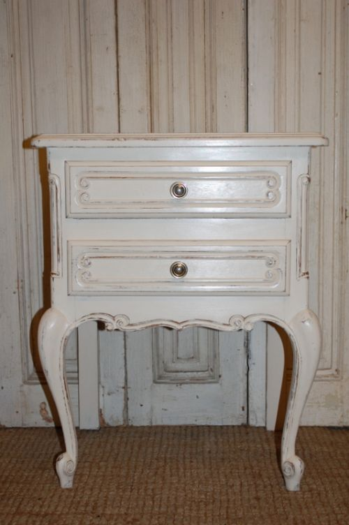 vintage french chest of drawers bed side table side cabinet