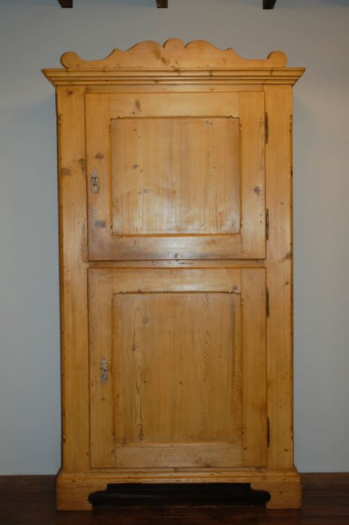 antique country double door storage cupboard rustic cabinet 1840