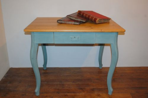 antique painted pine table 1870
