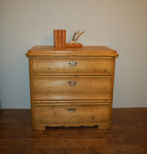 antique scandinavian regency empire biedermeier pine chest of drawers 1820