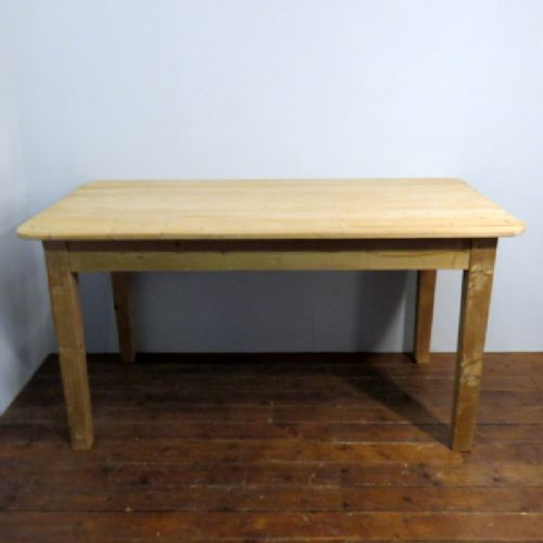 antique victorian pine welsh cottage dining kitchen table 1870